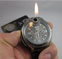 china watches - New China Military Lighter Watch Novelty Man Quartz Sport Refillable Butane Gas Cigarette Cigar Men Wrist Watches for Sale Luxury Brand