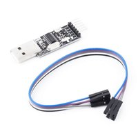 Wholesale USB2 Pin CH340G Converter for STC for Arduino PRO Instead CP2102 PL2303 To TTL Brand New