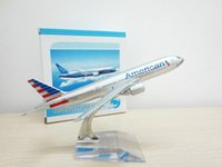 Wholesale retail price Boeing BOEING777 American airlines AA16CM metal model plane Aviation gift toy for children cm