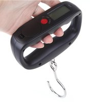 Wholesale 2015 New Digital Portable Electronic Electric Luggage Weight Hanging Scale LCD Display kg lb oz g Rose Black kg g