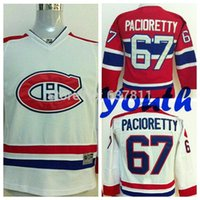 Wholesale Youth Montreal Canadiens Max Pacioretty Hockey Jerseys Max Pacioretty Jersey Kids Home Red White Cheap Boys Stitched Jerseys