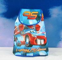 cute drawstring bag - Cars Jack Drawstring Backpack Child Cute Big Hero baymax Avengers School Bag Kids Travel Bags Birthday Party Bag Gift