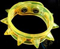 Wholesale 100pcs led flash bracelet light up party toys bracelet hand ring bracelet for party bar cosplay