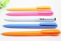 automatic drill - Automatic ball point pen Candy color dot love drill bit gel ink pen water based pen stationery Pen B1460