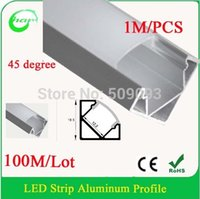 Cheap Wholesale-12V aluminum profile led recessed for kitchen cabinet 100M Lot Length can be customized