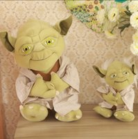 alien baby doll - Yoda plushStar Wars Figure Plush Toy Aliens Yoda Soft Stuffed Plush Doll Toy Baby Toy Kids Gift pc
