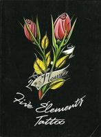 Wholesale PDF Format Tattoo book traditional tattoo pgs flower pattern kind of skull Tattoo Flash Tattoo Designs Sketch