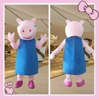 Cheap Adult Cartoon Character Costumes Cosplay Onesie Anime Adult Size Pig mascot costume Fancy Dress Cartoon Characters