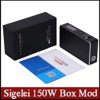 ally - 100 Original Sigelei W Box Mod new Aluminum Ally VW mods Spring loaded pin vs Eleaf Istick Box Mod Megatron SMY