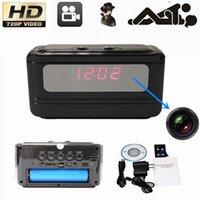 Wholesale SPY Hidden HD Mini Digital Clock DVR Motion Detect Alarm Video Recorder P CH