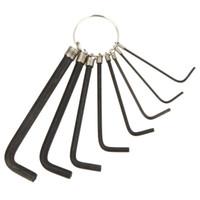Wholesale Hot Sale in Steel Hex Key Wrench Hexagon Socket Head Screw Allen Keys Wrench Cycling Bike Bicycle Repair Tool Set