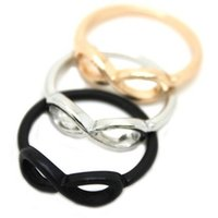 band of infinity - LZ Jewelry Hut R66 R67 R68 The Europe Fashion Jewelry Exaggerated Symbol Of Infinity Ring Finger Rings For Women