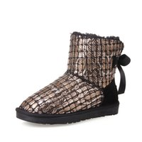 Wholesale New arrival ankle boots winter boots for women fashion boots for women snake skin boots bowtie boots warm boots sexy boots A2462