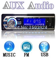 Wholesale car dvd High Quality Car Audio Stereo In Dash Music MP3 Player Radio FM USB SD AUX MMC input Receiver
