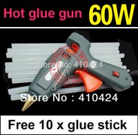 Wholesale 60W V Hot Glue Gun Crafts Repair Tool Professional with Free Glue Sticks mm order lt no track