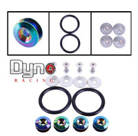 Wholesale Neo Chrome Quick Release Fasteners are ideal for front bumpers rear bumpers and trunk hatch lids