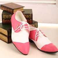 Wholesale Sexy Stitching Leather Prom Shoes Groom Wedding Shoes Business Dress Shoe Single shoes DY