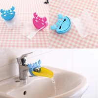 Wholesale Creative Helps Kid Child Bathroom Sink Hands Washing Faucet Extender Crab Design