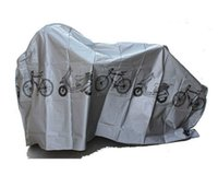 Wholesale NEW cm Waterproof Dust and Rain motorcycle and Bicycle Cover and Protector Gray White