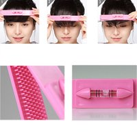 salon product - Fashion DIY Professional Bangs Hair Cutting Clip Comb Hairstyle Typing Trim Tools Professional Salon Products