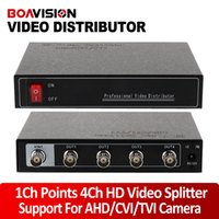 1280*720 or 1920*1080 analog video splitter - 1 Channel Points Channel P P AHD HDCVI HDTVI Analog HD Video Splitter BNC Output Max To m Support Resolution P Or P