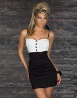 Cheap New 2014 Summer mini bodycon tunics sexy Dress Bandage High Quality Fashion set item Sexy Club Strapless Mini Slim Lady Dress