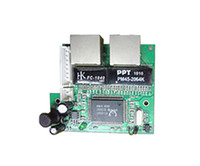 al por mayor interruptor de alimentación de red-Tiempo limitado de stock Interruptor de red Ethernet Interruptor 2 puertos rj45 Con cabeza de clavijas Hub para la alimentación 5v 1a 1,7mm Puerto mini placa Fabricante