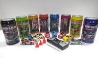 big antennas - MINI Coke Can Mini RC Cars Micro Racing Car Vehicles Toy High Speed RC Car with Antenna in Bottle Assorted Color