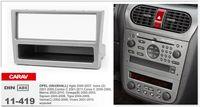 Black astra kit - CARAV Top Quality Radio Fascia forOPEL Agila Astra G Combo C Corsa C Stereo Fascia Dash CD Trim Installation Kit