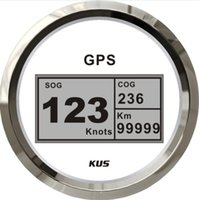 Wholesale High quality mm digital GPS speedometer CCSB WS white faceplate for boat yacht marine boat parts