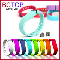Wholesale 2015 New Replacement Fitbit Flex Wireless Band Activity Bracelet Wristband With Clasp Not include tracker Hot
