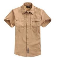 army specialist - Military outdoor men s short sleeve shirt specialist shirts