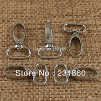 Cheap Wholesale-20 X Swivel Lobster Clasps Trigger Clips Snap Hooks for Bag 5 8'' Webbings