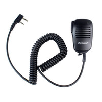 Wholesale Mini Handheld Microphone Mic PTT Speaker Walkie Talkies Speaker For WOUXUN PUXING HYT BAOFENG Radios J6205A