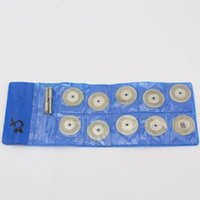 Wholesale New mm diameter Mini Sharp Diamond Cutting and grinding Discs cutting disk Dremel Tools
