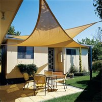 Wholesale Garden Triangle Sun Shade Sail Outdoor Backyard Size M M M Sun Sail UV Block Sun Sail Shade Cover