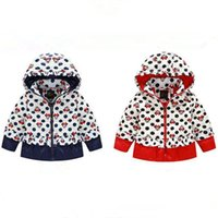 best snow jacket - LJJG215 Best Winter Children Coat Mickey Thicken Warm Girls Jacket White Duck Down Coat Hooded Snow Coat
