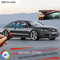 Wholesale Newest OBD window roll up closer module original cars Canbus OBD for Audi A4 A6 A7 A8 Q5 VW Touareg