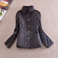 ladies quilted winter coat - Limited No Winter Coat Top Quality Winter Premium Version Is Perfect British Style Ladies Quilted Cotton Jacket