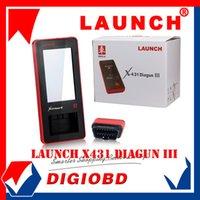 Wholesale Authorized Distributor New Arrival Auto Diagnostic Scanner Launch X431 Diagun III Original Update via internet X