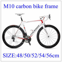 bicycle frame parts - M10 Carbon Bike Frame k Full Carbon Bicycle Parts BB68 Glossy Matt size cm Road Bicycle Frames