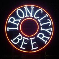 bars city - 17 quot x14 quot Pennsylvania Iron City Beer design Real Glass Neon Light Signs Bar Pub Restaurant Billiards Shops Display Signboards