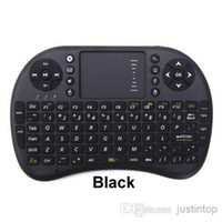 Wholesale Rii Mini i8 Wireless Fly Air Mouse Keyboard Touchpad Remote For Google Smart Andriod TV BOX IPTV Media Player T8 T95 S912 M8S MXQ MXIII S905