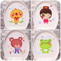 Wholesale Creative cartoon Home Furnishing bathroom waterproof toilet with children s bedroom home decoration stickers Korea cute refrigerator
