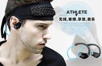 athlete music - Original Dacom Athlete Bluetooth Headset Wireless Sport Headsfree Headphones Stereo Music Fone De Ouvido With Microphone amp NFC