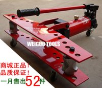 bending bender - WEIGUO bender hydraulic pipe bender manual bending machine containing inch mold MM