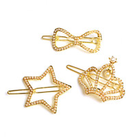 Wholesale Set Hot Sale Fashion Lovely Star Hair Bands Pearl Hair Clip Accessories Jewelry For Women
