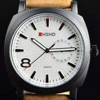 atmosphere leather - 2015 HOt sell Top Quality Fashion Matte leather watches men Wristwatches Atmosphere Watch men Fashion outdoor sports men s Watch WT070
