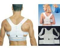 Cheap Adjustable Unisex Magnetic Posture Back Shoulder Corrector Support Brace Belt