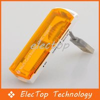 Wholesale 4 in TF M2 MS SD Card Reader With USB Port Support G G Card With High Speed